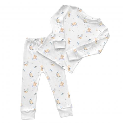 Пижама: Pima Cotton Blue Bears