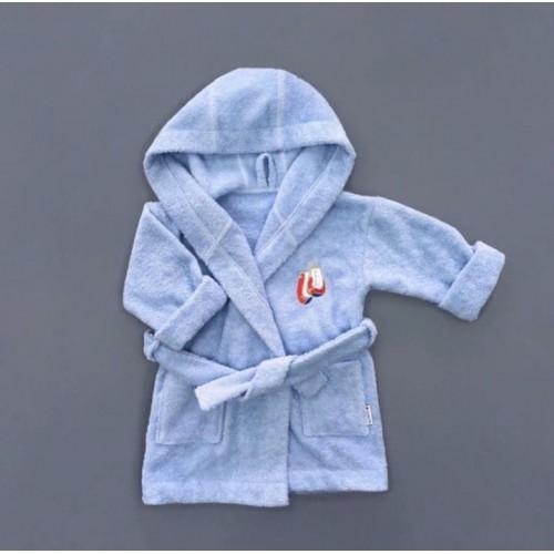 Халат: Bath Robe Light-Blue