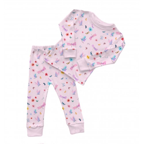 Пижама: Pima Cotton Magic Butterfly Pyjama PJ001