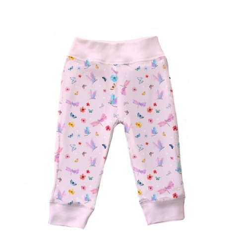 Штанишки: Pima Cotton Magic Butterfly Pants BR001