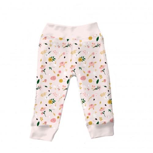 Штанишки: Pima Cotton Flowers Bloom Pants BR001