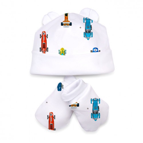 Шапочка: Pima Cotton Formula One (White) Hat