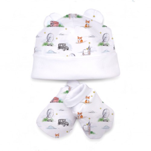 Шапочка: Pima Cotton Corgi Hat