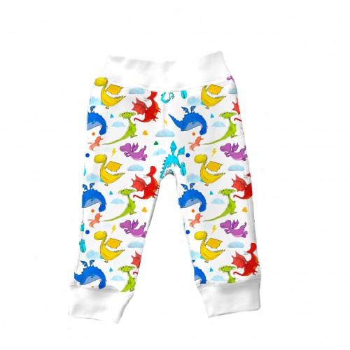 Штанишки: Pima Cotton Dragons Pants BR001