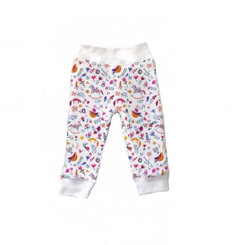Штанишки: Pima Cotton Ethnic Pants BR001