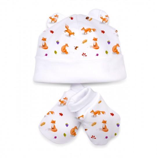 Шапочка: Pima Cotton Foxes Hat