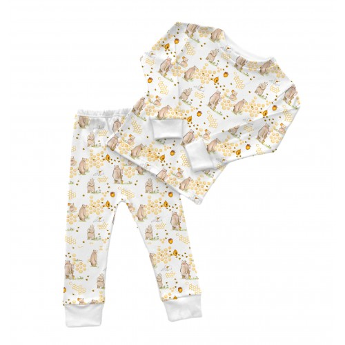 Пижама: Pima Cotton Bears and Honey Pyjama PJ001