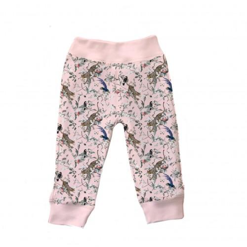 Штанишки: Pima Cotton Vintage Jaguar Pink Pants BR001