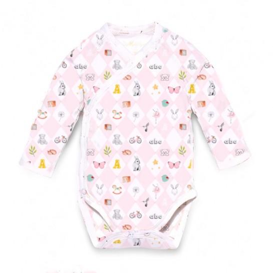 Боди-Кимоно: Pima Cotton Pink Toys