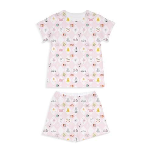 Пижама: Pima Cotton Pink Toys Pyjama PJ005