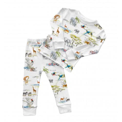 Пижама: Pima Cotton Savannah Pyjama PJ001