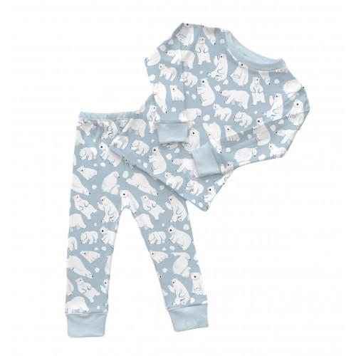 Пижама: Pima Cotton Snow Bears Pyjama PJ001
