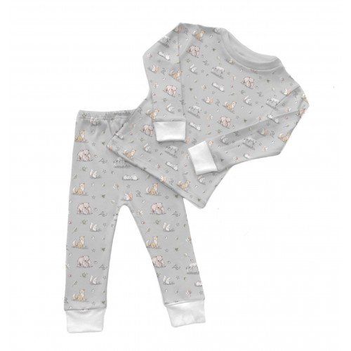 Пижама: Pima Cotton Winter Garden Pyjama..