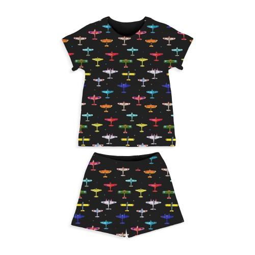 Пижама: Pima Cotton Aviator Pyjama PJ005
