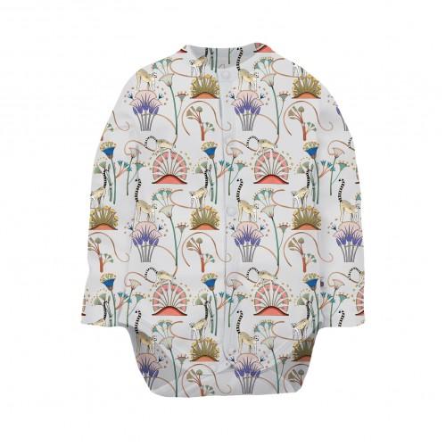 Боди: Pima Cotton Lemurs Bodysuit