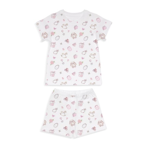Пижама: Pima Cotton Play Time Pink Pyjama PJ005