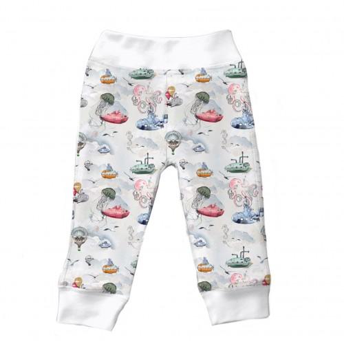 Штанишки: Pima Cotton Under The Sea Pant..