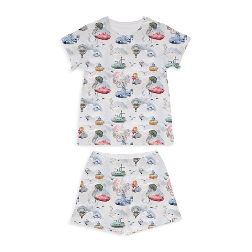 Пижама: Pima Cotton Under The Sea Pyjama PJ005