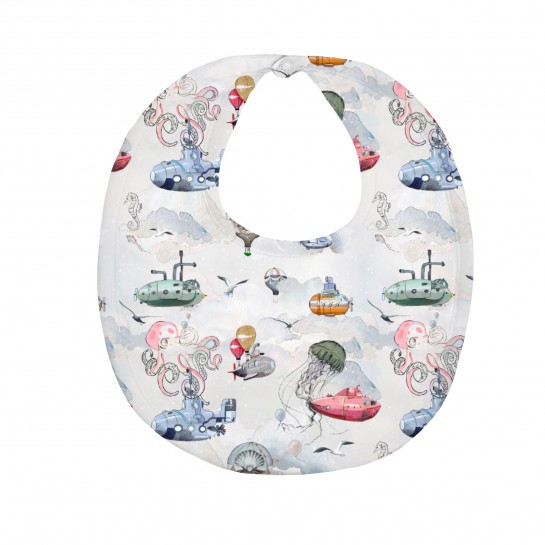 Слюнявчик: Pima Cotton Under The Sea Bib BIB003