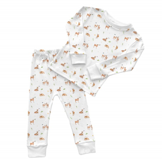 Пижама: Pima Cotton Baby Deer Pyjama PJ001