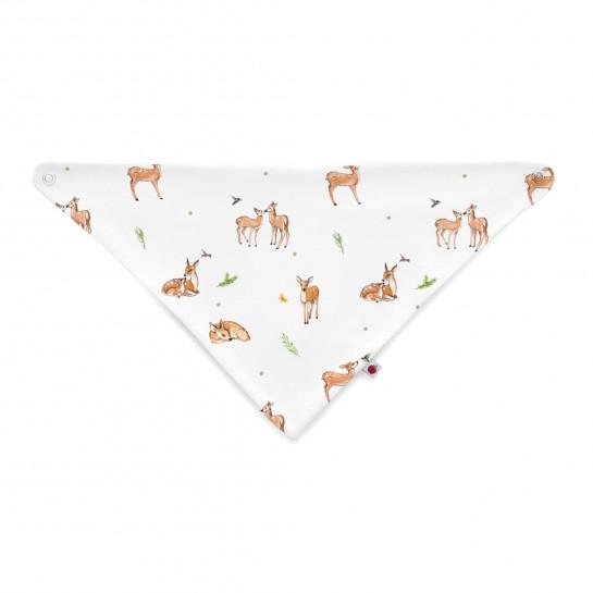 Слюнявчик: Pima Cotton Baby Deer Bib BIB001