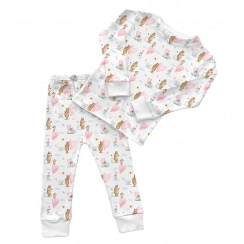 Пижама: Pima Cotton Love Story Pyjama PJ001