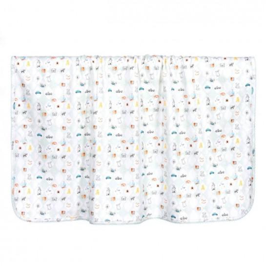 Special: Мягкое двухслойное одеяло-пеленка с принтом на выбор