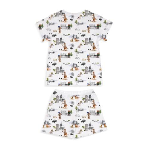 Пижама: Pima Cotton Sherlock Dogs Pyjama PJ005